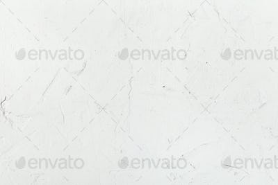 white plaster wall close up