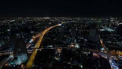 Night life in Bangkok city, Thailand