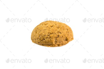Close up of Pepernoot cookie or ginger nut