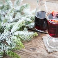 Mulled wine on Christmas eve