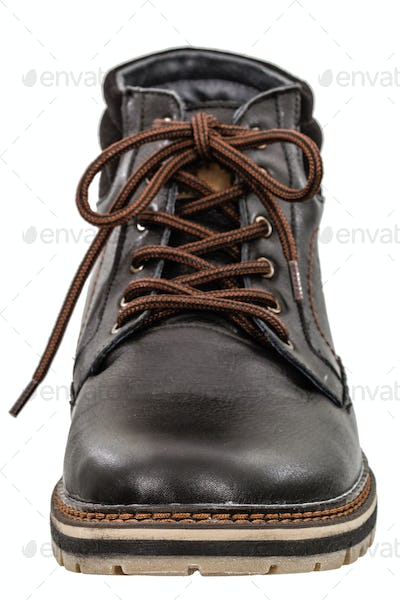 A single new of boot, isolated on white background