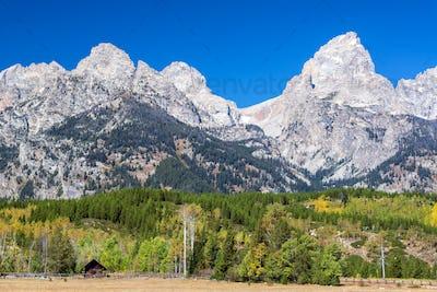 Teton Range and Foothills