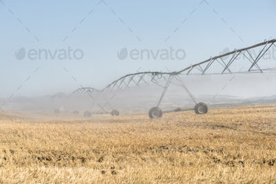 Irrigation sprayers in the field