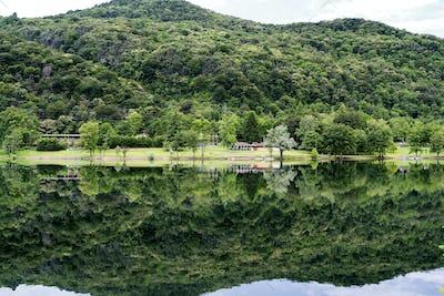 Lake of Ghirla (Varese, Italy)