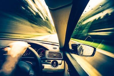 Left Side Driving Concept