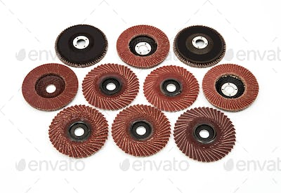 Industrial polishing and  grinding wheels set
