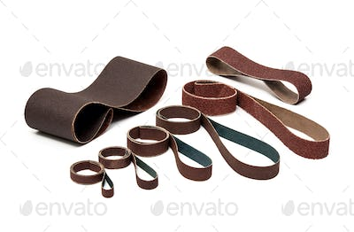 Industrial Sanding Belts Sand Papers in Rolls