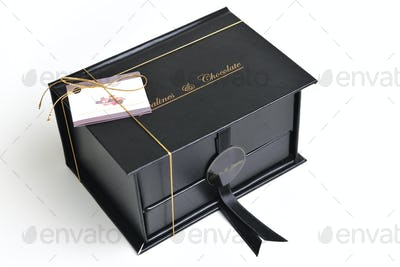 chocolate and praline box