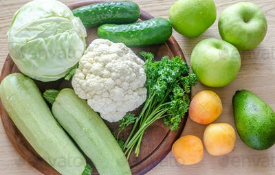 Hypoallergenic fruits and vegetables