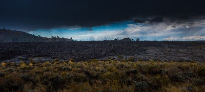Big Cinder Butte Craters of the Moon Panorama