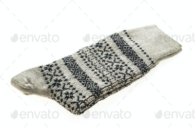 Sock isolated on white