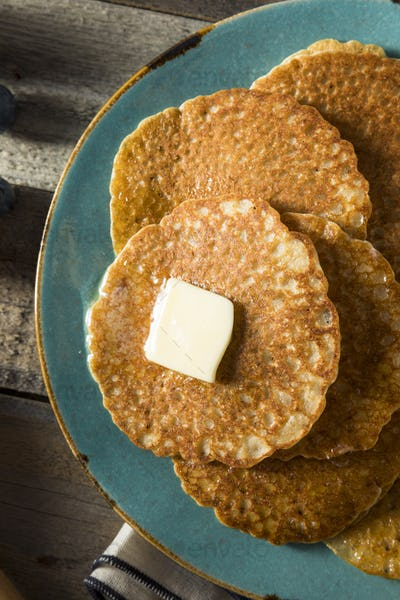 Homemade Mini Silver Dollar Pancakes