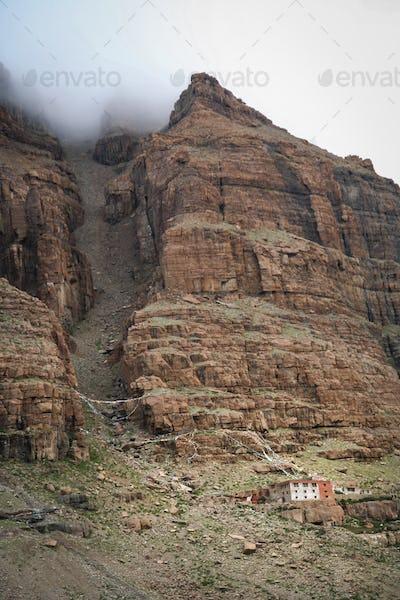 Remote tibetan monastery