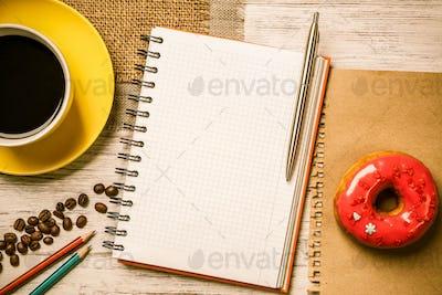 Coffee break with snack