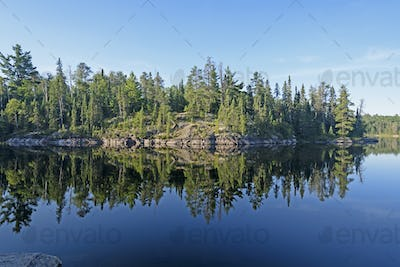 Morning Reflections in Canoe Country