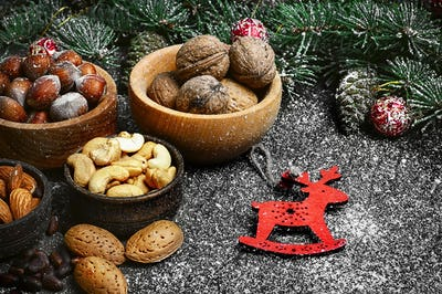 Forest nuts nuts for Christmas