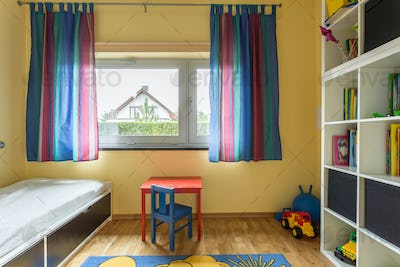 Modern room for a child