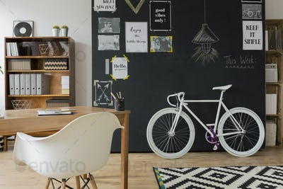 Inspiring scandynavian student's flat