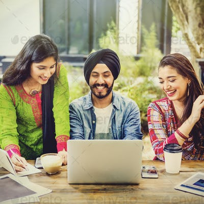 College Education University Youth Teenagers Concept