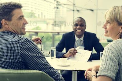 Business Communication Connection People Concept