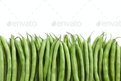 bean pods background