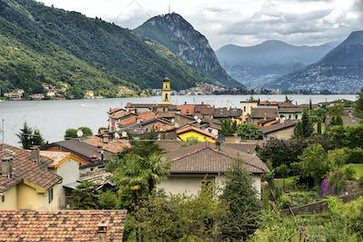 Ceresio lake (Ticino, Switzerland)