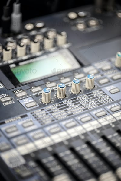 Audio sound desk