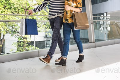 Couple Together Shopping Customer Concept