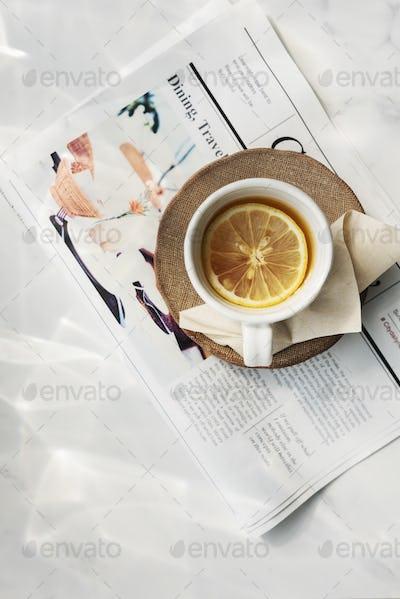 Tea Trends Chill Calm Fresh Ideas Relax Concept