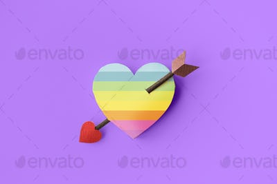 Love Adore Affection Like Care Romance Passion Concept