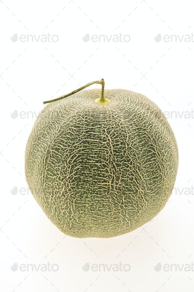 Green melon fruit