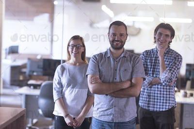 start up business team