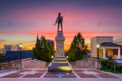 Lynchburg, Virginia Monument Terrace