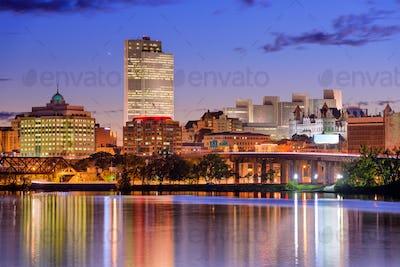 Albany, New York Skyline
