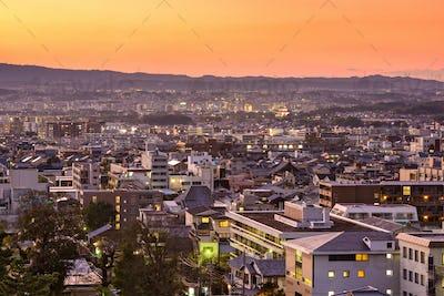 Nara, Japan Downtown Cityscape