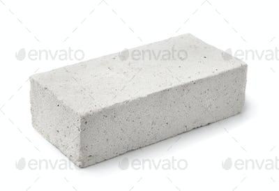 Lightweight foamed gypsum block