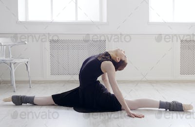 Classical Ballet dancer portrait