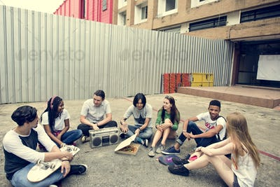 People Friendship Togetherness Pizza Activity Youth Culture Conc