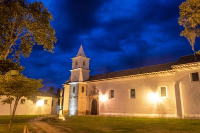 Convent of San Francisco at Night