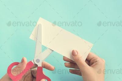 Scissors Paper Ideas Inspiration Style Art Concept