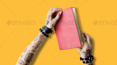 Tattoo Notebook Document Idea Write Organizer Concept