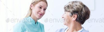 Nice friendly carer