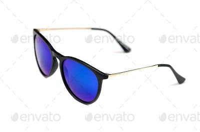 sunglasses, blue lens