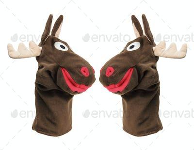 Reindeer Hand Puppets