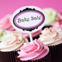 Cupcakes for a bake sale