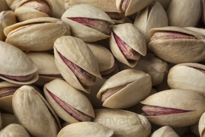 Unshelled pistachio nuts full frame