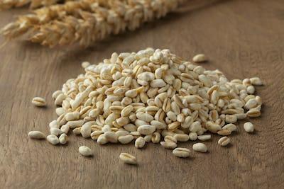 Heap of ebly seeds