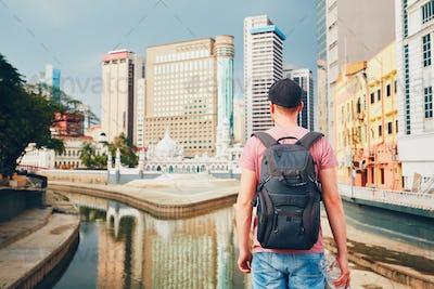 Tourist in Kuala Lumpur