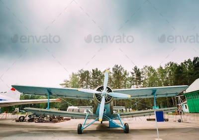 Old Soviet Plane Paradropper Aircraft