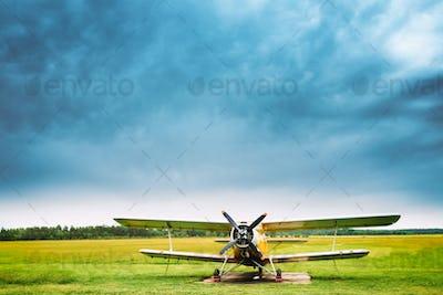 Old Plane Aircraft Aeroplane, Airplane
